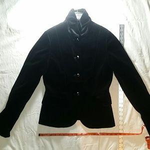 Velvet jacket by J. Crew